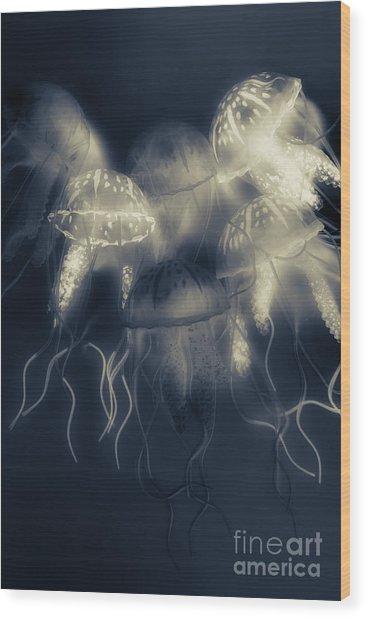 Crepsiculs - An Awakening Wood Print