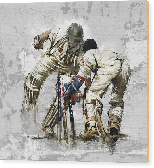 Cricket1 Wood Print by James Robinson