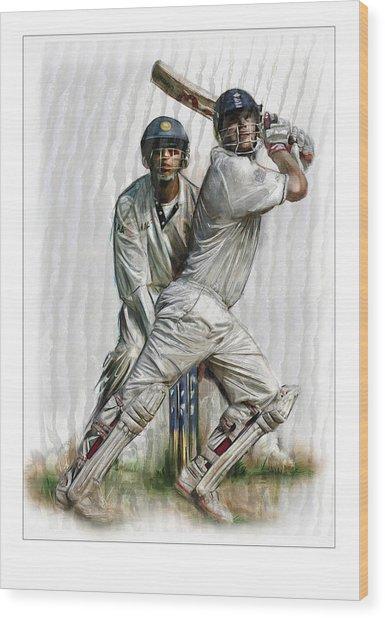 Cricket2 Wood Print by James Robinson