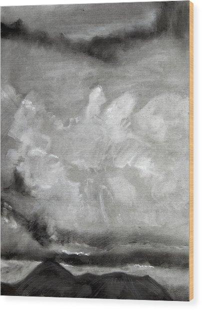 Croagh Patrick Wood Print