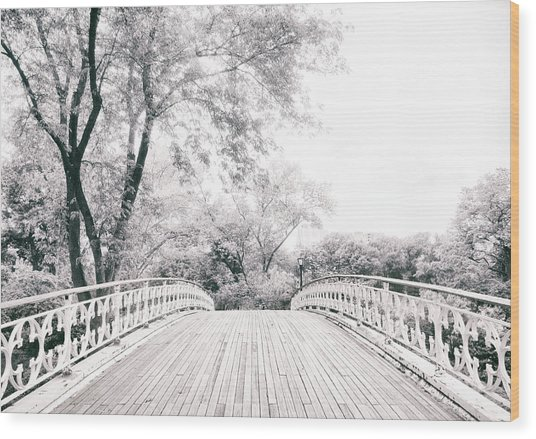 Crossing Gothic Wood Print