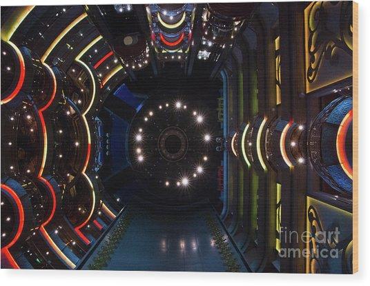 Cruise Ship Abstract Centrum Wood Print