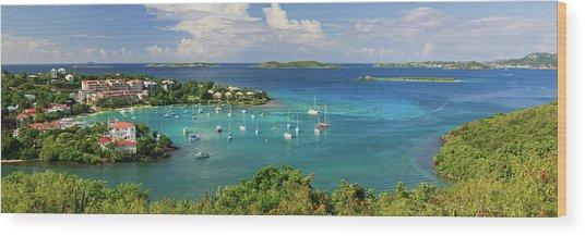 Cruz Bay Wood Print