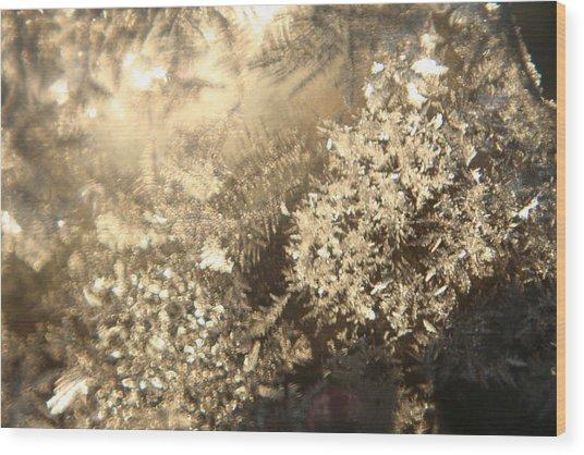 Crystal Kingdom Wood Print