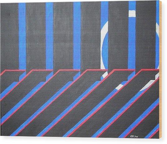 Crystal Passage Wood Print by Kenneth Regan