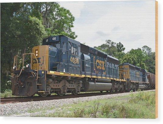 Csx 4080 Train Engine By Rd Erickson