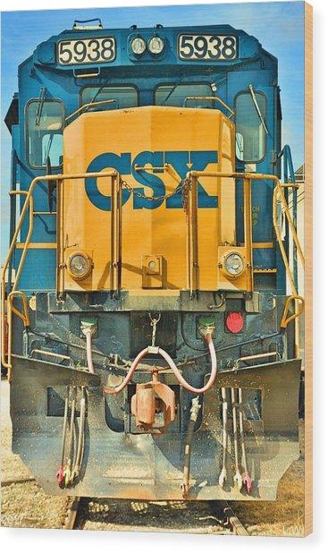 Csx 5938 Wood Print