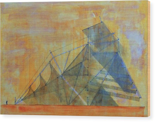 Cubilight Concept Wood Print