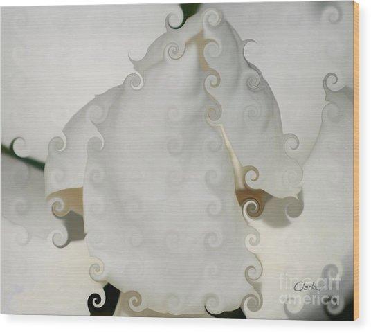 Culicue Magnolia Macro Wood Print