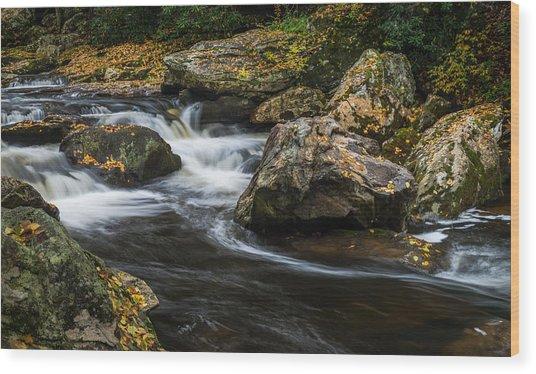Cullasaja River Wood Print