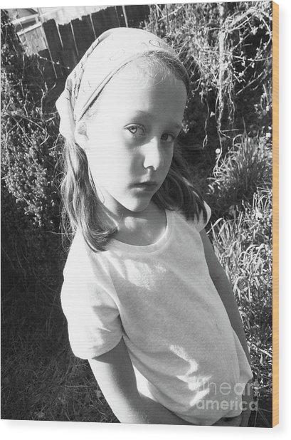 Cult Child Wood Print