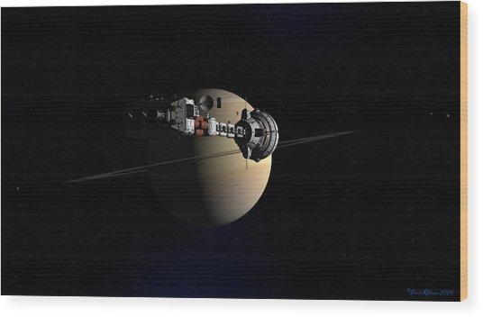 Cumberland At Saturn Wood Print