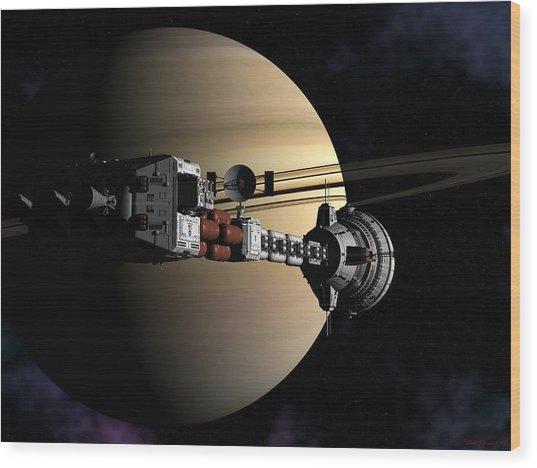 Cumberland At Saturn Part 2 Wood Print