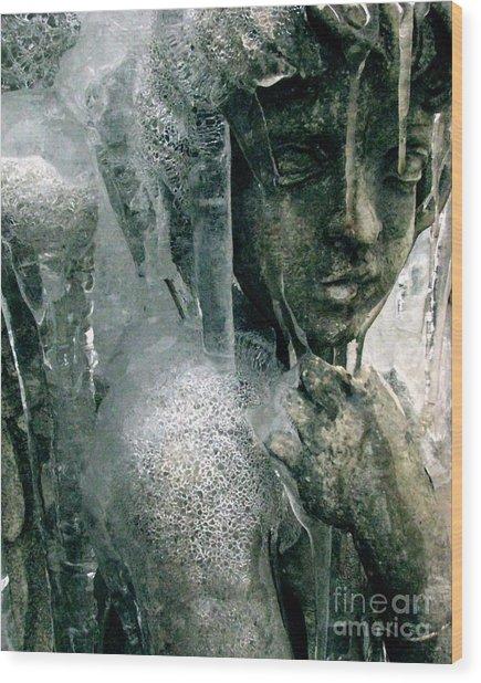 Cupid's Psyche Awaiting Zephyrus Wood Print