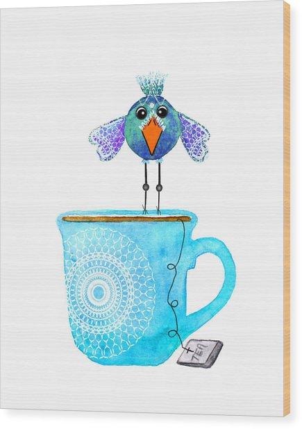 Cuppa Series - Tea Taster Wood Print