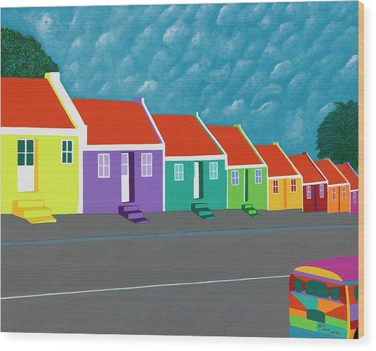 Curacao Dreams IIi Wood Print