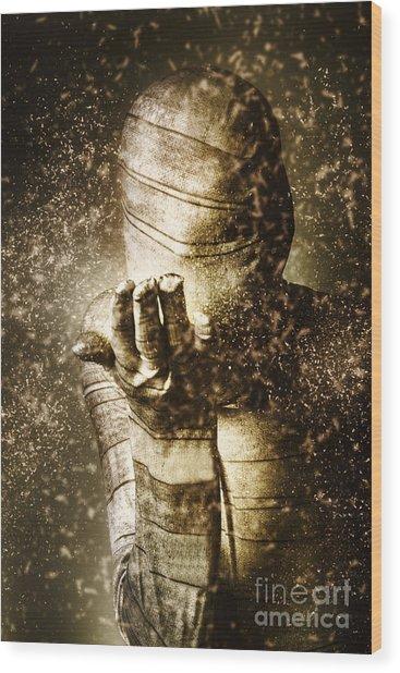 Curse Of The Mummy Wood Print