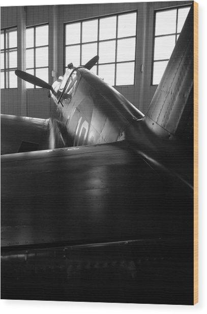 Curtiss P-40 Wood Print