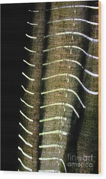 Curvilinear Wood Print