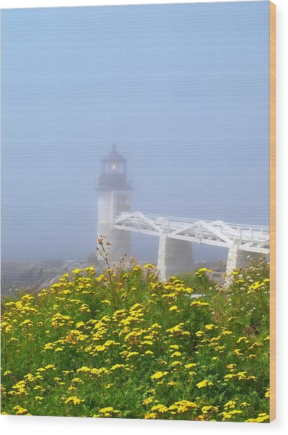 Cushing Lighthouse Wood Print