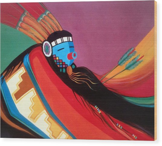 Custom Kachina Wood Print