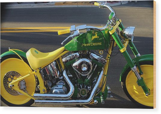 Custom Motorcycle Wood Print
