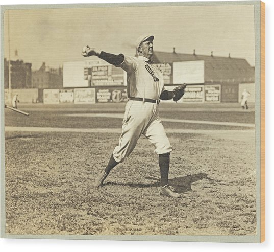 Cy Young July 23rd 1908 Wood Print
