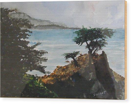 Cypress Wood Print by Dwight Williams