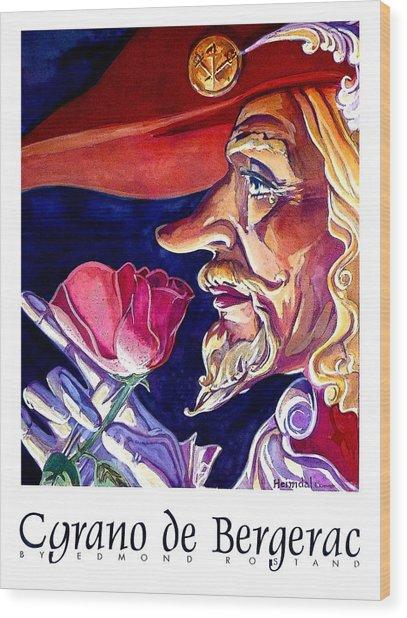 Cyrano Wood Print