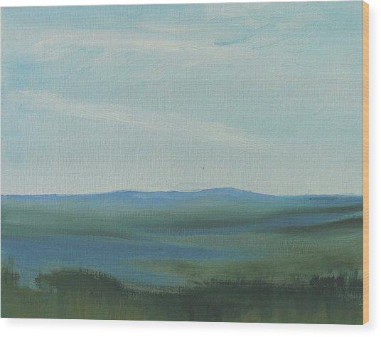 Dagrar Over Salenfjallen- Shifting Daylight Over Distant Horizon 6a Of 10_0027 50x40 Cm Wood Print