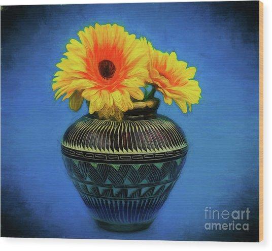 Daisy 121417-1 Wood Print
