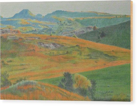 Dakota Prairie Dream Wood Print