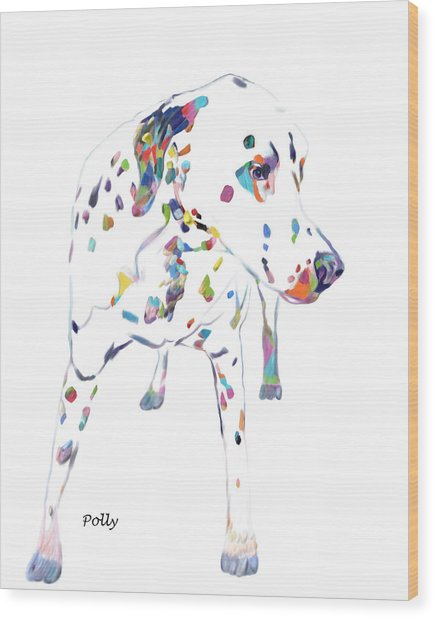 Dalmatian Wood Print