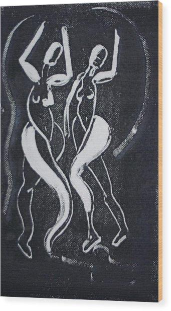 Dance IIi Wood Print by Dan Earle