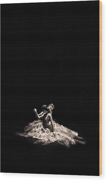 Dance Of Motion Wood Print