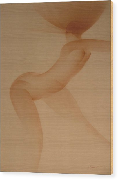 Dancer Wood Print by Gary Kaemmer