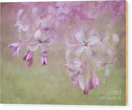 Dangle Me Lilac Wood Print