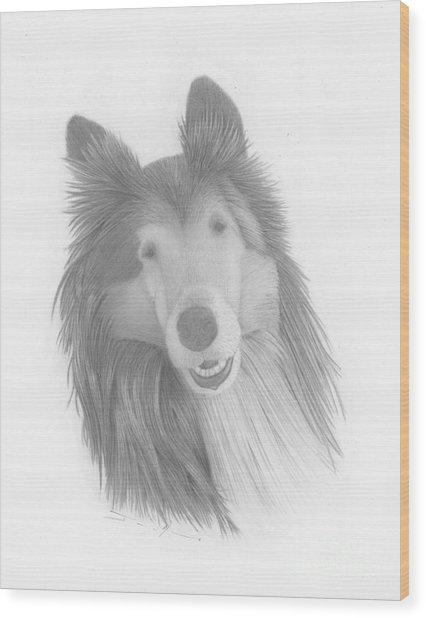 Darby  Wood Print