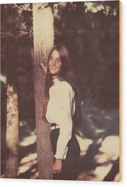 Darcey Tree Wood Print
