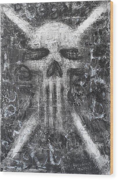 Dark Departure Wood Print