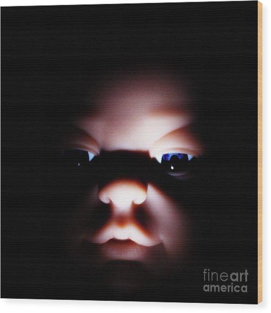 Dark Innocence Wood Print by Lewis Bonner