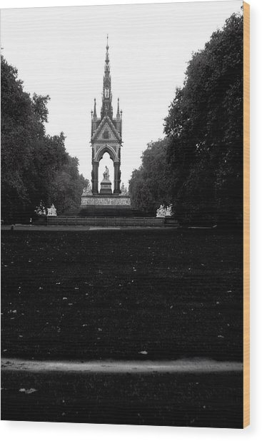Dark Memorial Wood Print by Jez C Self
