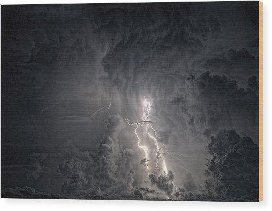 Dark Sky Wood Print