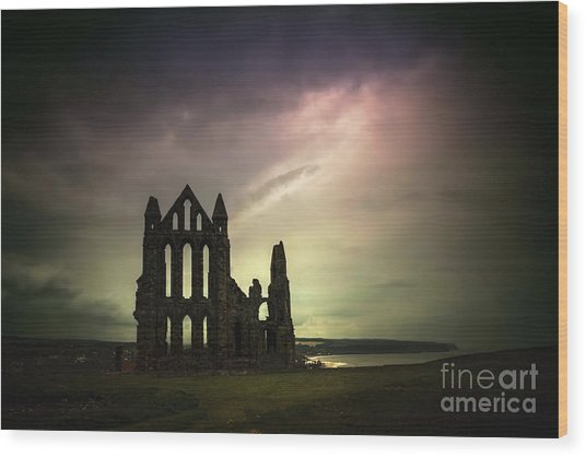 Dark Thy Kingdom Wood Print