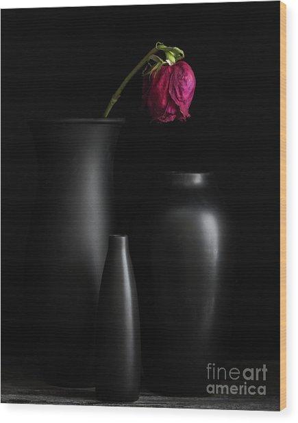 Dark Trio Wood Print