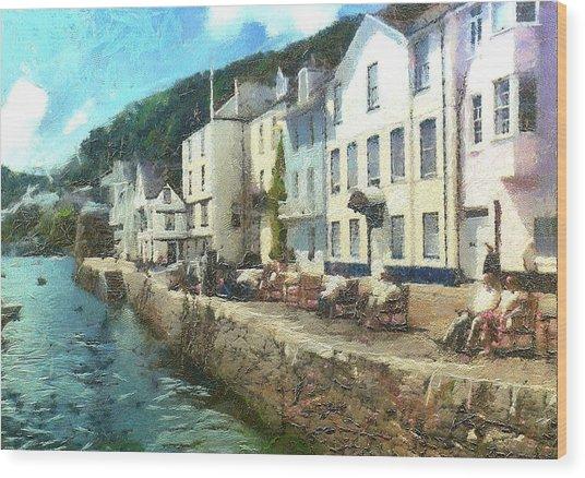 Bayards Cove Dartmouth Devon  Wood Print