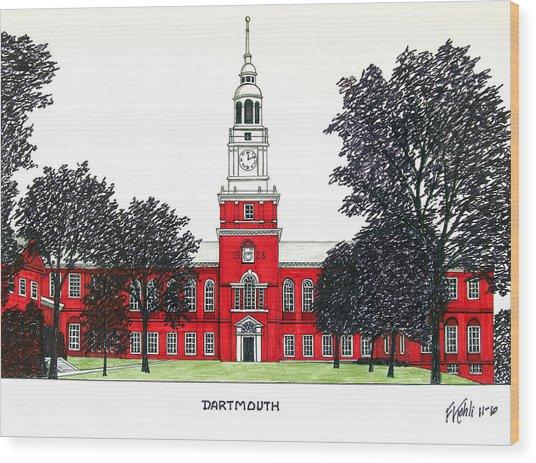Dartmouth Wood Print by Frederic Kohli