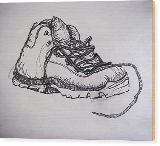 Das Boot Wood Print