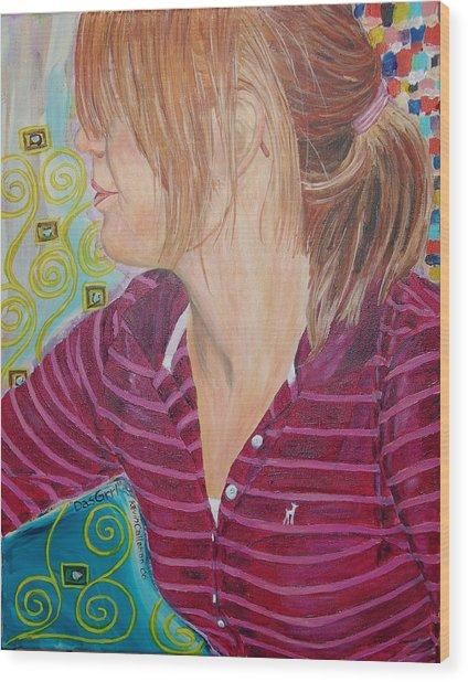 Das Girl Wood Print by Kevin Callahan