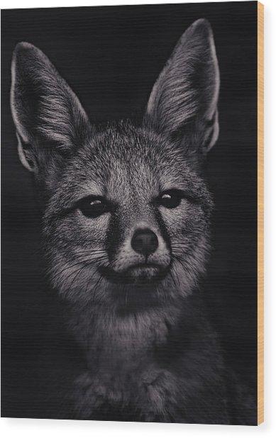Dash  Wood Print